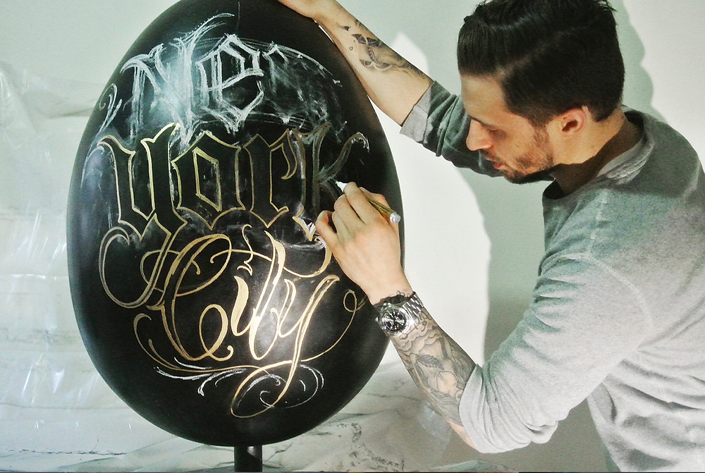 Egg #185 by Nick Matic in process