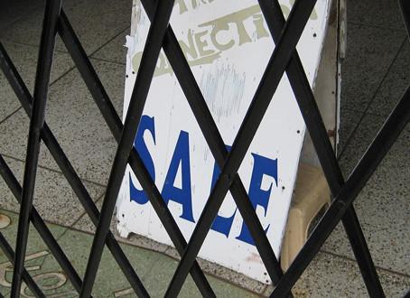Sales? What Sales?