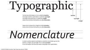 typographic-nomenclature