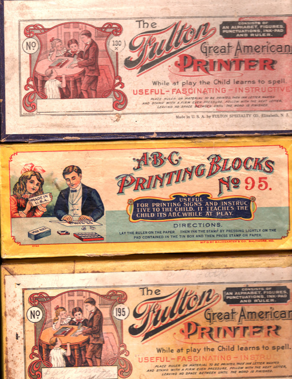 fulton printing sets