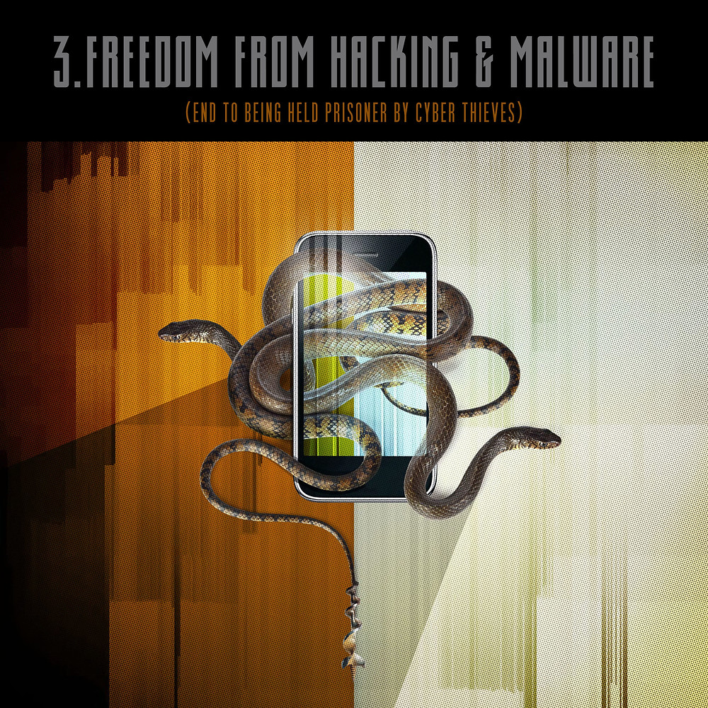 3. Freedom from hacking & malware
