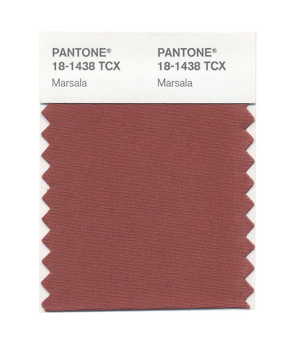 Pantone Color of the Year 2015-Marsala