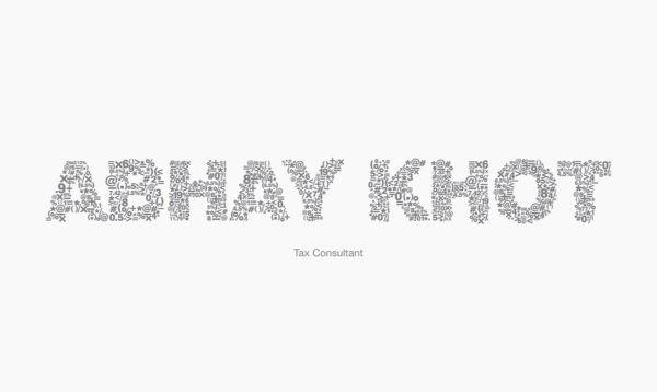 Letterhead examples: Abhay Khot 2