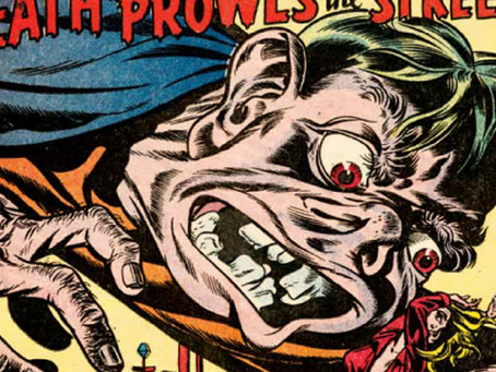 Hooray for Twisted, Filthy, Disgusting Comic Books!