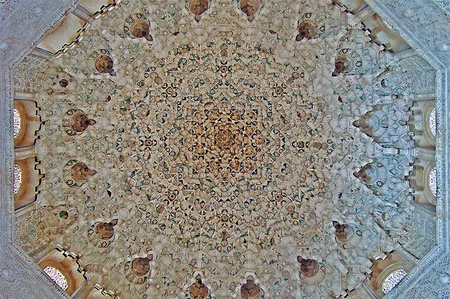 Alhambra ceiling by Jason Priem on Flickr: http://www.flickr.com/photos/26158205@N04/4246807938/