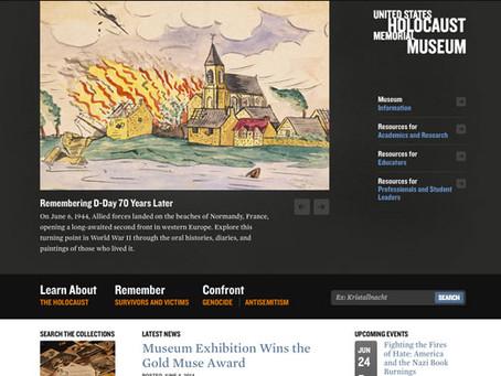 Designing to Remember: U.S. Holocaust Memorial Museum Website Redesign