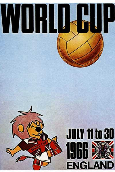 1966 World Cup Poster, England