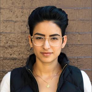graphic designer and hand-letterer Jen Marquez