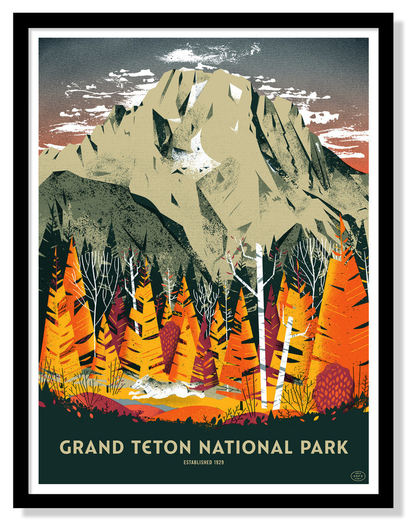 'Grand Teton National Park' (Open Edition) by Eric Nyffeler