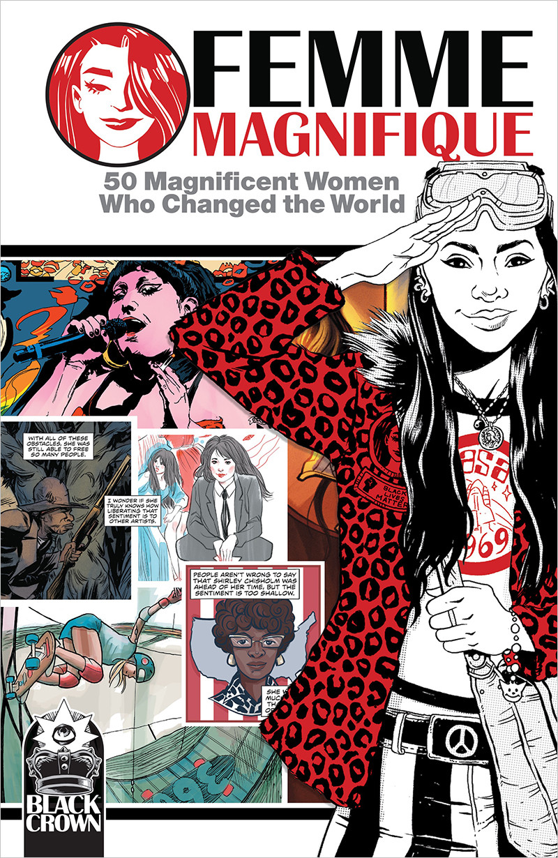 50 MAGNIFICENT WOMEN WHO CHANGED THE WORLD artist: Teddy Kristiansen