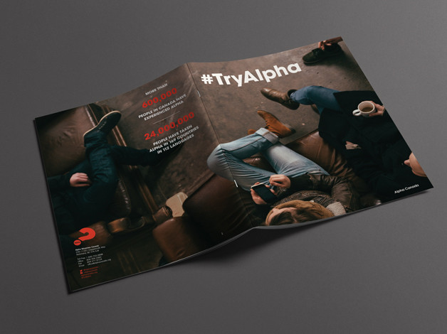 Alpha front and back covers