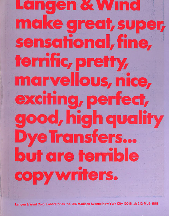 vintage graphic design ads from the '60s