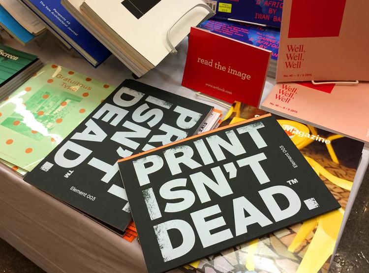 Print Isn't Deaad