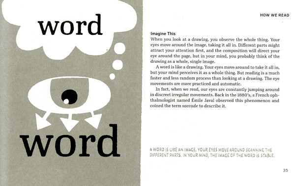 A word is like an image.