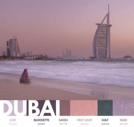 Dubai color themes