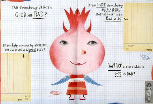 Innovative children's book design by Sara Fanelli