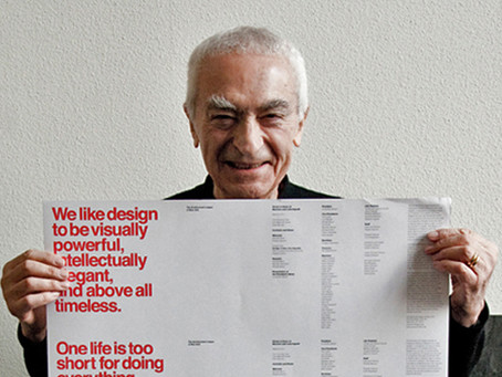 "Massimo Vignelli: Creator of Timeless Design and Fearless Critic of ""Junk"""