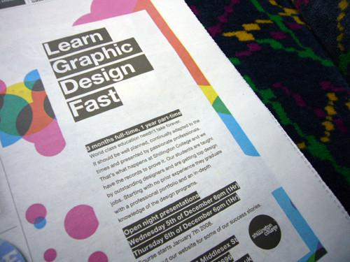 learn graphic design fast