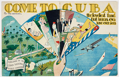 Come to Cuba Pamphlet; cuban design