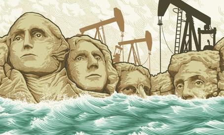 """An Inconvenient Sequel"" Film Poster by Illustrator Justin Santora"