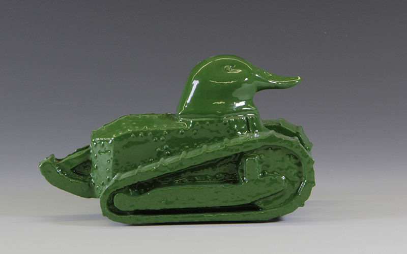 duck shaped French tank FT17