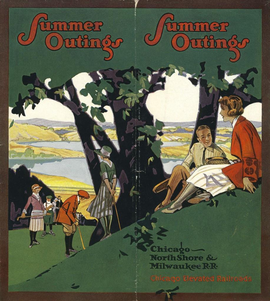 A 1920s travel brochure