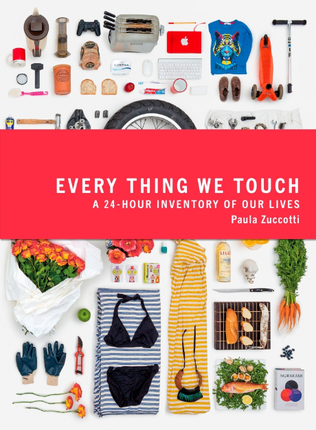 Every Thing We Touch by Paula Zuccotti, as featured in 2017 AIGA Design conference.