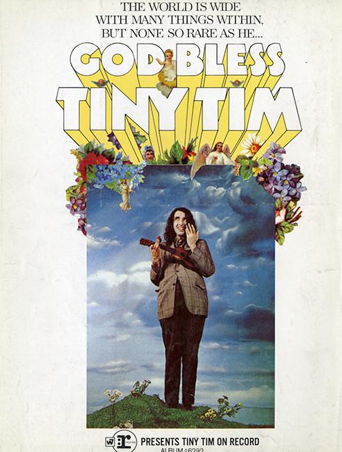 . . . Tiny Tim's pre-Weird Al Yankovic comedic pose, to . . .