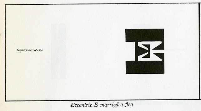 """eccentric """"E"""" married a flea"""