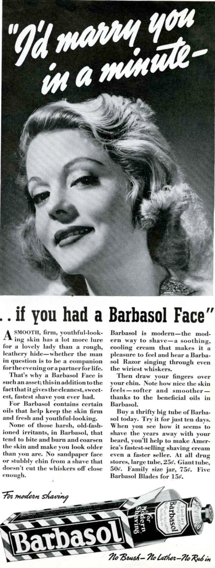Artical about Barbasol