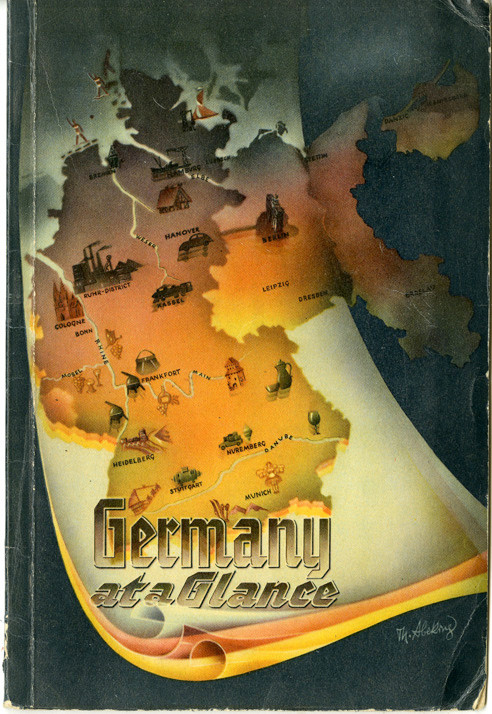 Germany at a Glance was published in 1952.