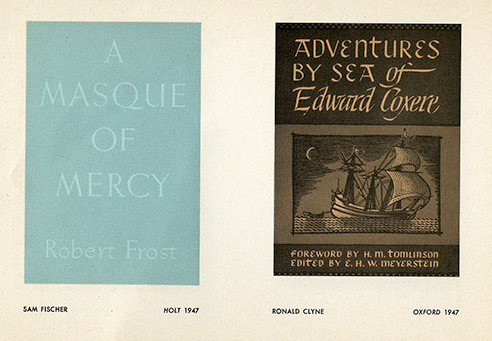 Catalog for the first exhibit in 1948