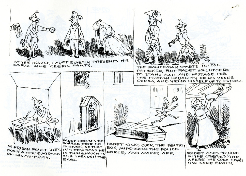 Rodolphe Töpffer's comic