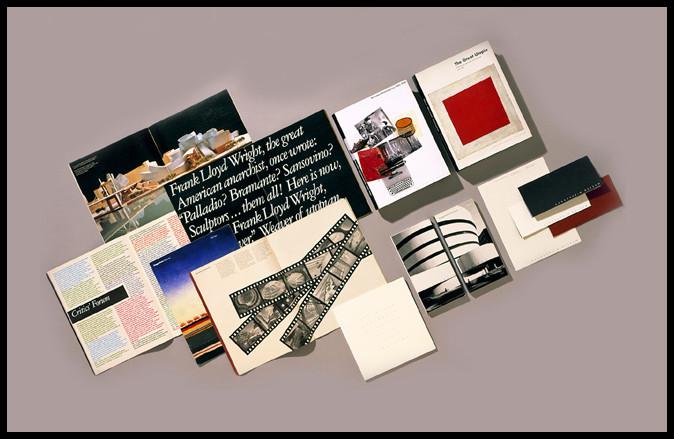 Vignelli 1994 Guggenheim Museum Graphics Composite