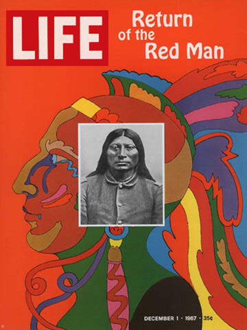 Life 1967 return of the Red Man
