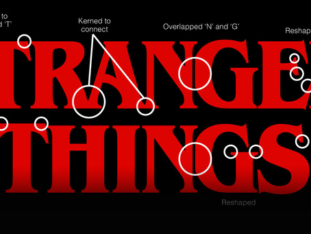The Stranger Things Logo: From Type to Title