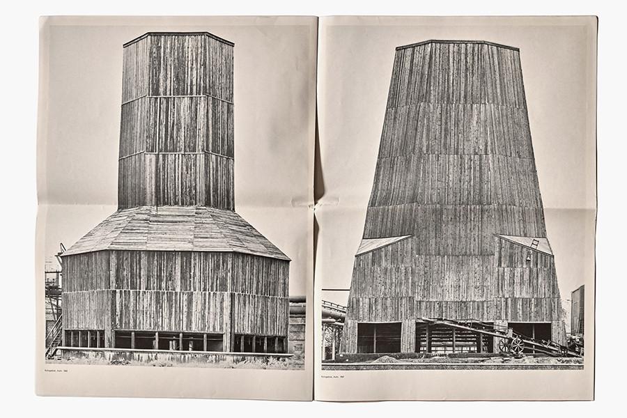 Kunstzeitung by Berd and Hilla Becher