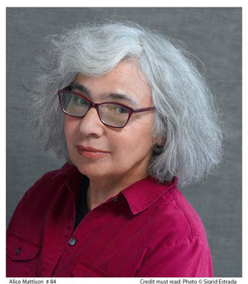 Writer Alice Mattison. Photo by Sigrid Estrada.