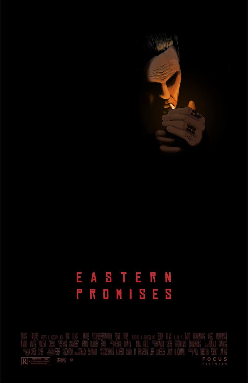 work by owen lamay, illustrator of alternative film posters