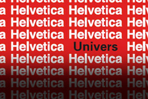 The Univers of Helvetica: A Tale of Two Typefaces