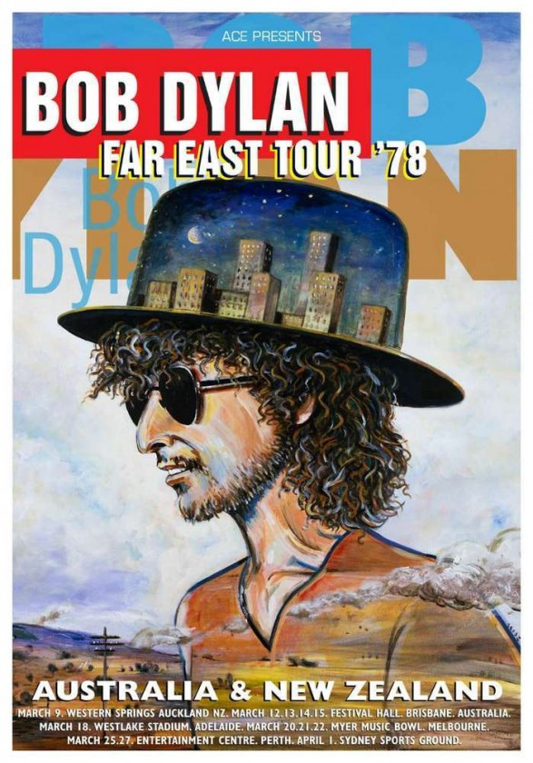Tour poster 1978