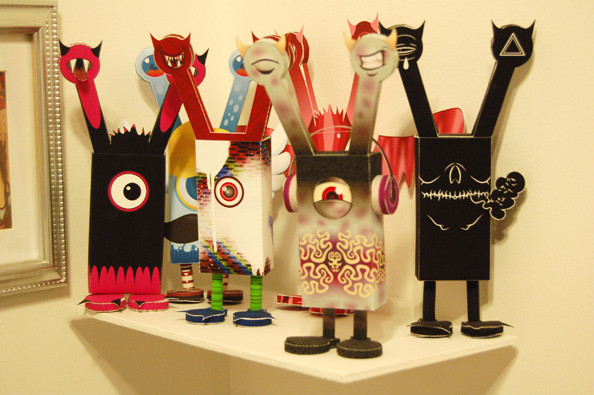 Paper Toy Monster the collection