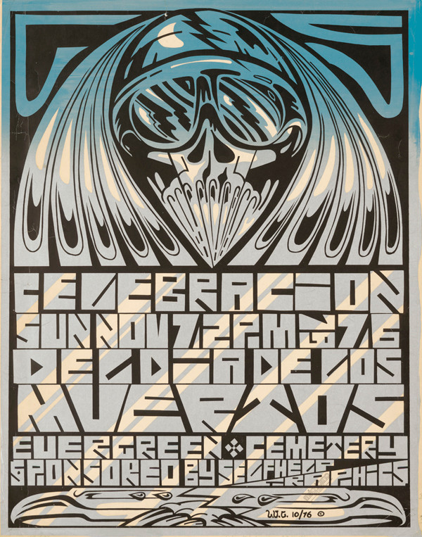 Leonard Castellanos (Méchicano Art Center): Celebracion, 1976