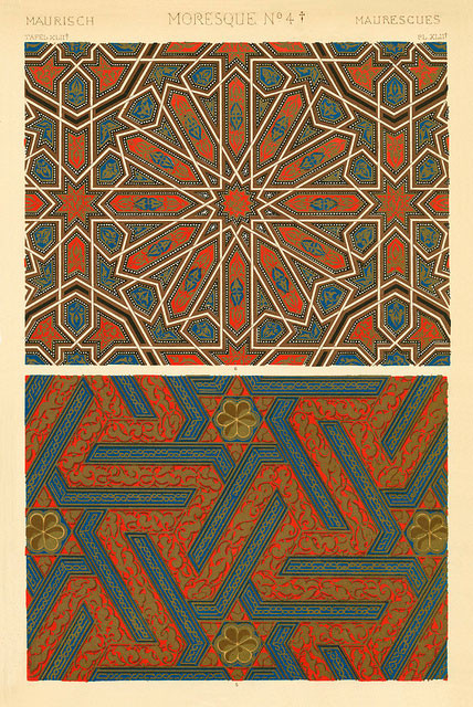 Plate from The Grammar of Ornament by Owen Jones (1856)