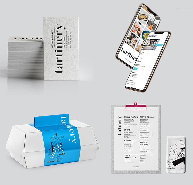 The designes items of Tartinery