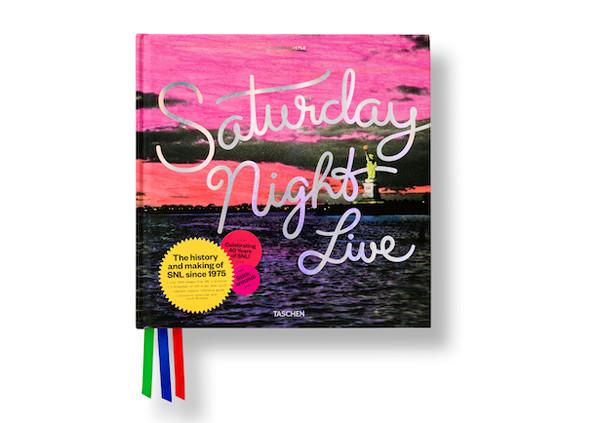Saturday Night Live: The Book Pentagram; www.pentagram.com: Emily Oberman (creative director/art director/designer), Jonathan Correira, Alex Stikeleather (designers), James Shanks (photographer), Alison Castle (writer); Taschen (client)