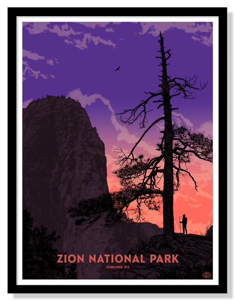 'Zion National Park' (Open Edition Version) by Dan McCarthy