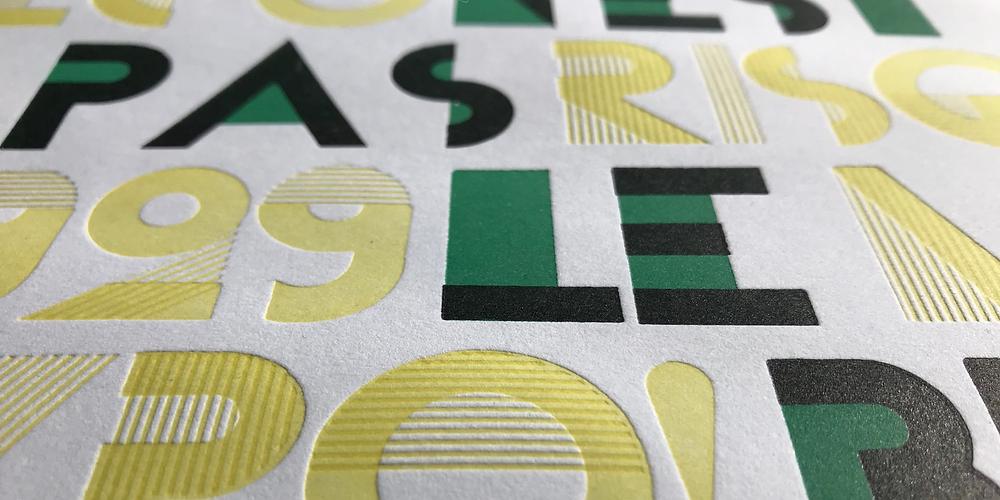 Cassandre's Bifur is an eclectic typeface.