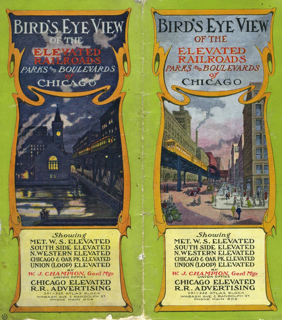 railroads advertising brochure