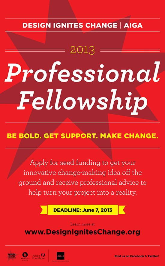 Prof Fellowship tabloid poster